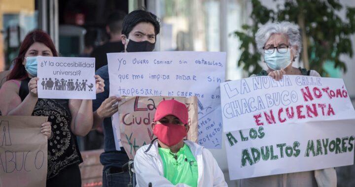 Descontento por inauguración de calle Chacabuco de Casablanca