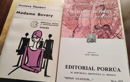 """Madame Bovary, c´est moi"", por Eddie Morales Piña"