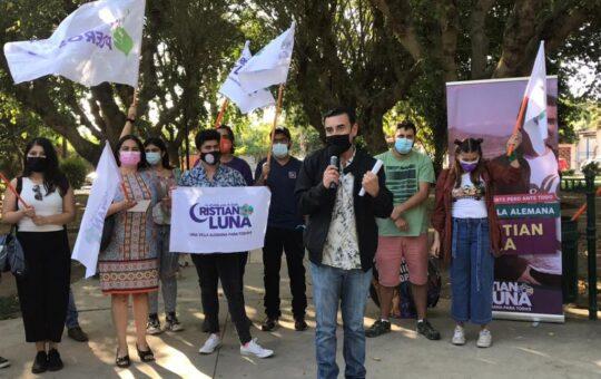"""Cristian Luna llama a terminar con el """"Sabatismo Autoritario"""" en Villa Alemana"""