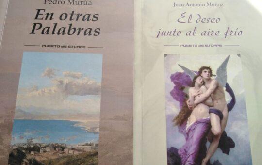 Dos poemarios de Puerto de Escape, por Eddie Morales Piña.