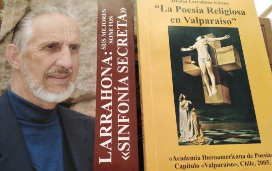 Los noventa años del poeta Alfonso Larrahona, por Eddie Morales Piña