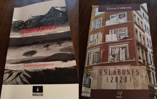 Teresa Calderón y Leonora Lombardi, dos poetas en tiempos de pandemia: Crónica literaria de Eddie Morales Piña