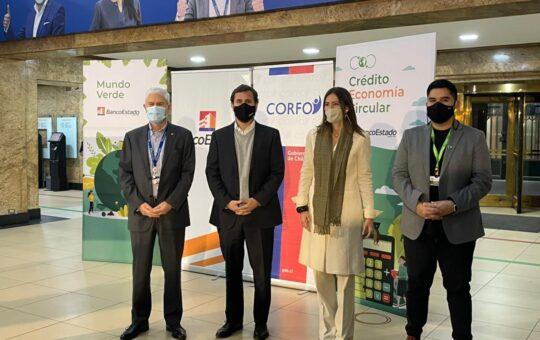 BancoEstado y Corfo lanzan nuevo crédito que busca potenciar proyectos de economía circular