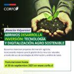 Corfo lanza programa para impulsar proyectos tecnológicos vinculados a la agricultura